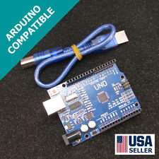 Arduino UNO R3 & USB Cable SMD Version Fast Shipping USA Seller