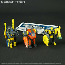 DESTRUCTION MINI-CON TEAM Transformer Armada complete + instructions 2003 Hasbro