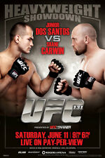 UFC 131 Junior Dos Santos vs Shane Carwin Sports Poster 12x18