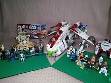 Lego Star Wars Lot 45 figures - 7163 Republic Gunship 7155 Droid AAT 7913 BARC