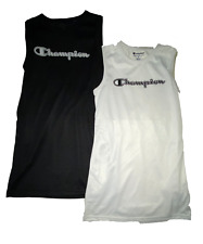 NWT Girls Champion Mesh Tank Dress - Black or White - MSRP $30