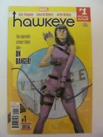 Hawkeye #1 Marvel Comics 2017 Series Kate Bishop 9.4 Near Mint