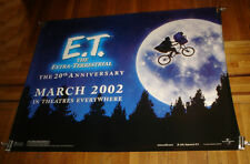 E.T. ET THE EXTRA TERRESTRIAL 20TH ANNIVERSARY SUBWAY MOVIE POSTER 2002