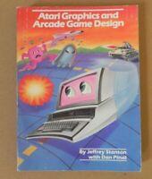 Atari Graphics & Arcade Game Design Paperback Book Jeffery Stanton 1984 Pinal