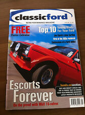 Classic Ford Magazine January 2001 Escort XR3, RS2000, Zephyr V6, Anglia 105E