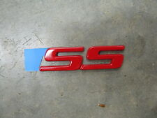 "1983-2005 Monte Carlo SS Red ""SS"" Emblem for the side of the car OEM"