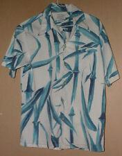 Vintage 100% Cotton Don Loper Of California Neckloop Hawaiian Shirt- S/M !
