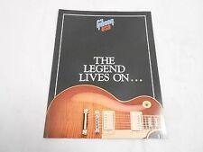 VINTAGE MUSICAL INSTRUMENT CATALOG #10052 - (1989) GIBSON GUITARS