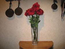 LEONARDO *NEW* Fleur artificielle rouge ( vendu à la pièce )