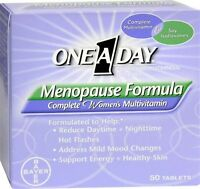 One A Day Menopause Formula Complete Women's Multivitamin 50 Tablets Women