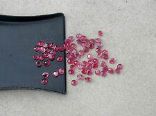 1/2ct red ruby round natural gem parcel 1.8 to 2.0mm each