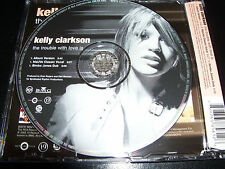 Kelly Clarkson The Trouble With Love is Australian Remixes Picture Disc CD Singl