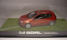1 VW GOLF GOAL ORANGE 1:43 SCHUCO