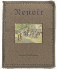 August Renoir 7 Paintings and one Drawing of the Traveler Seemann Verlag Leipzig