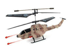UDI U809A Cobra Combat Fighter 3.5 Channel RC Helicopter with Missile Launcher