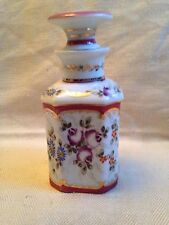 Vintage German Porcelain Perfume Cent Bottle