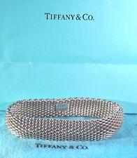 Tiffany & Co Somerset Mesh Bangle Bracelet
