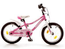Kawasaki Kuma Mädchenfahrrad 16 Zoll Kinder Rad mit Rücktritt rosa