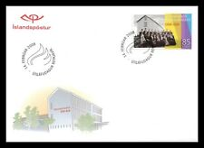 Iceland 2008 FDC, 100th. Anniversary of The Teachers College, Lot # 2.