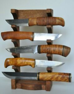 Shelve vertical Stand 5 tier Knife Display Holder