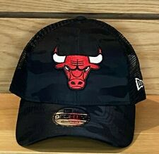 New Era - Chicago Bulls - Mesh Back Cap - Black Camo - Trucker - 9Forty