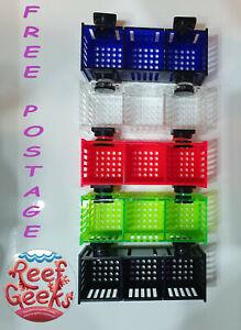 Coral Frag rack, Mushroom box, magnetic. Zoa, discosoma,ricordia, frag plug.