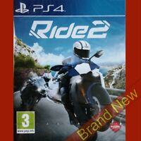 RIDE 2 PlayStation 4 PS4 ~ PEGI 3+ Game in English - Brand New & Sealed!