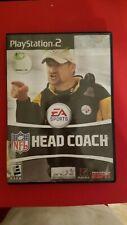 PS2 EA Sports NFL Head Coach w/ Manual (Sony-PlayStation 2-2006)