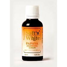 Swiss Soft n White Papaya Lightening Serum reduce dark spots and lighten skin