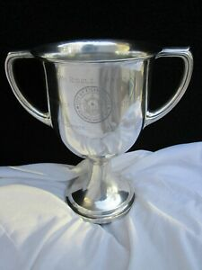 LOVING CUP GORHAM STERLING SILVER 1914 ATLANTIC CITY NJ MAYOR RIDDLE TROPHY