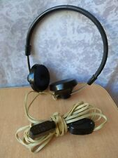 RARE Vintage Soviet USSR orthodynamic headphones TG-1 earphones