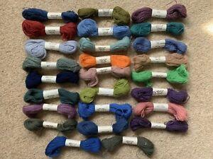26 x Appleton 2-Ply Tapestry Wool Skeins - Various Colours - Vintage - Lot 4