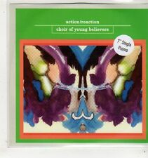 (GC625) Choir Of Young Believers, Action/Reaction - 2009 DJ CD