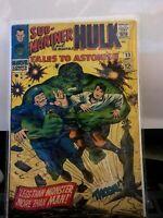 Tales to Astonish #83 Hulk & Sub-Mariner (Marvel 1966) High Grade GREAT COLOR FL
