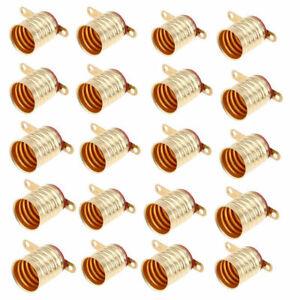 E10 Screw Small Light Bulb Copper Base Socket Lamp Holder Lighting Supplies