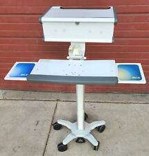Gcx Instrument Vhrs Variable Height Roll Stand Medical Cart Workstation Freeship