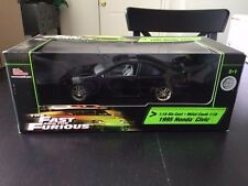 1995 Honda Civice 1:18 Scale Fast and the Furious Die Cast Car New Unopened ERTL
