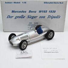 CMC M-018 Rarität Mercedes Benz W165 Bj.1939 Silberpfeil selten, OVP, 1:18, K034