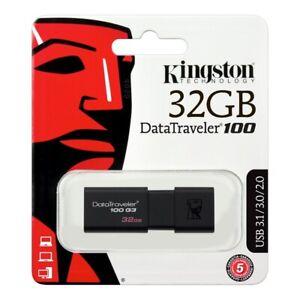 Pen drive usb 3.0 chiavetta kingstone 32 gb pennetta penna pendrive DataTraveler
