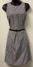 CUE In The City Soft Pink Check Dress Size 12