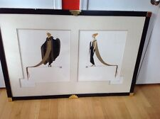 "Erte ""Ready for the Ball"" limited edition serigraph"