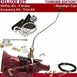 C4 Shifter Kit 23 Swan E Brake Cable Clevis Trim Kit For D1FF7
