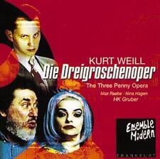 Die Dreigroschenoper von Gruber,Raabe,Ensemble Modern,HAGEN (1999)