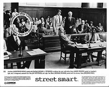 Lot of 4 Christopher Reeve Morgan Freeman stills STREET SMART (1987) Mimi Rogers