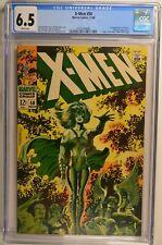 X-MEN #50 CGC 6.5 White pages Marvel 11/68 Origin of The Beast, 2nd Polaris App