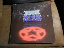 RUSH 2112 LP ORIG. 1976 Holland press