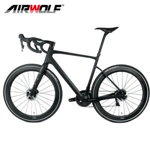 700*35C Carbon Gravel Bike Complete Bicycle 49/52/54/56/58 Fully Internal Wiring