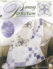 Pansy Perfection  Cross Stitch Blocks for Quilts (Leisure Arts #3441), Kooler De