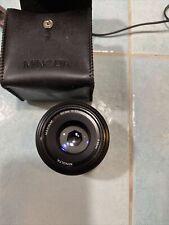 Minolta AF 50mm f/1.7 AF Lens w case