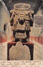 AZTECA LA DIOSA DE la MUERTE (GODDESS OF DEATH~LATAPI y BERT #156 POSTCARD 1906